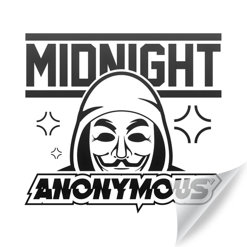 ANONYMOUS  Sticker [30cm²]