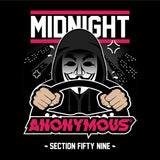 ANONYMOUS 'double sided' Hoodie