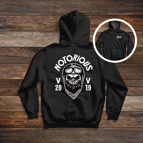 Notorious 'double sided' Hoodie