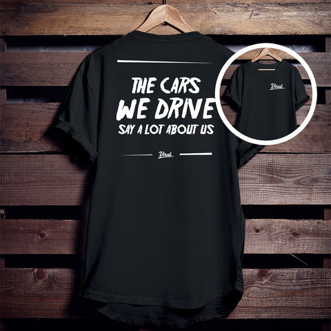 CARS WE DRIVE 'double sided' Tee