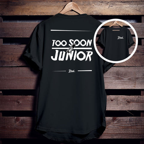 TOO SOON JUNIOR 'double sided' Tee