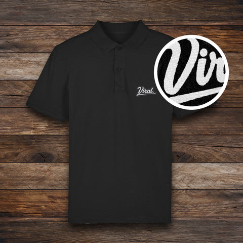 Embroidered Viral logo Polo