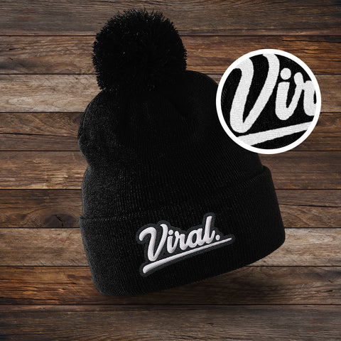 Embroidered Viral Beanie [5 colour available]