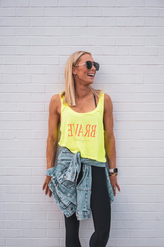 Empower Brave Cropped Tank