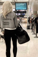 Empower Fierce Cropped Sweatshirt