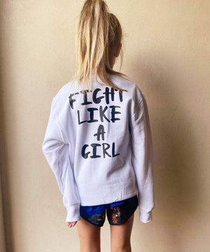 Empower Fight Like A Girl Youth Sweatshirt