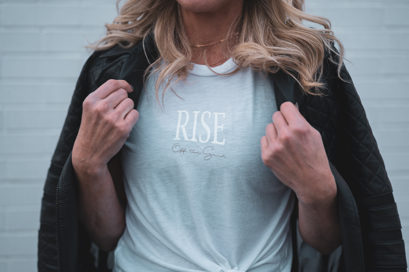 Load image into Gallery viewer, Empower Rise Flowy Tee