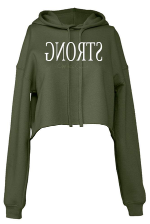 Empower Strong Cropped Hoodie