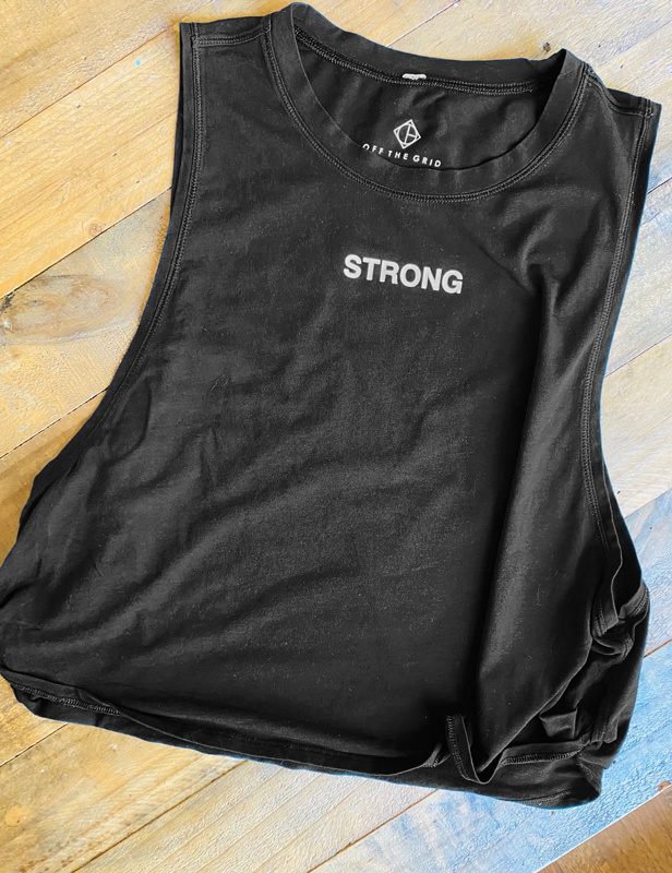 Empower Strong Cropped Tank - PRE-ORDER