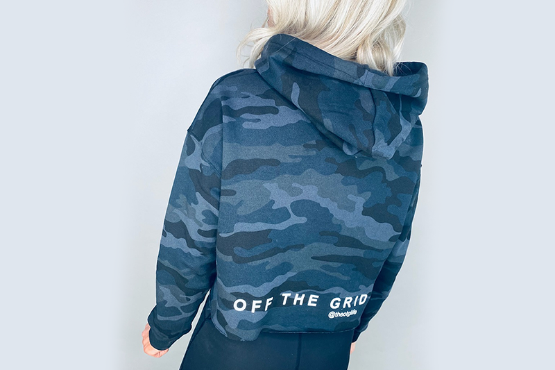 Load image into Gallery viewer, OTG Logo Camo Sweatshirt
