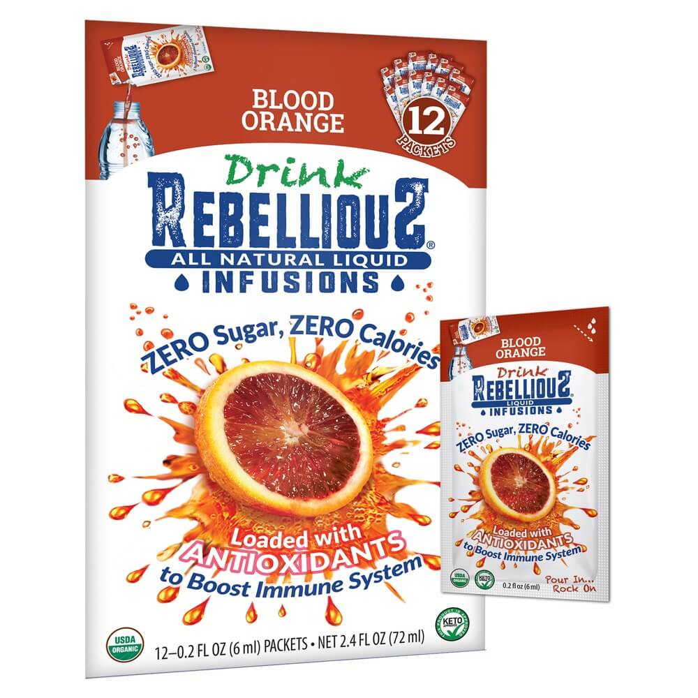 Rebellious Infusions Blood Orange 12-pack Liquid Packet