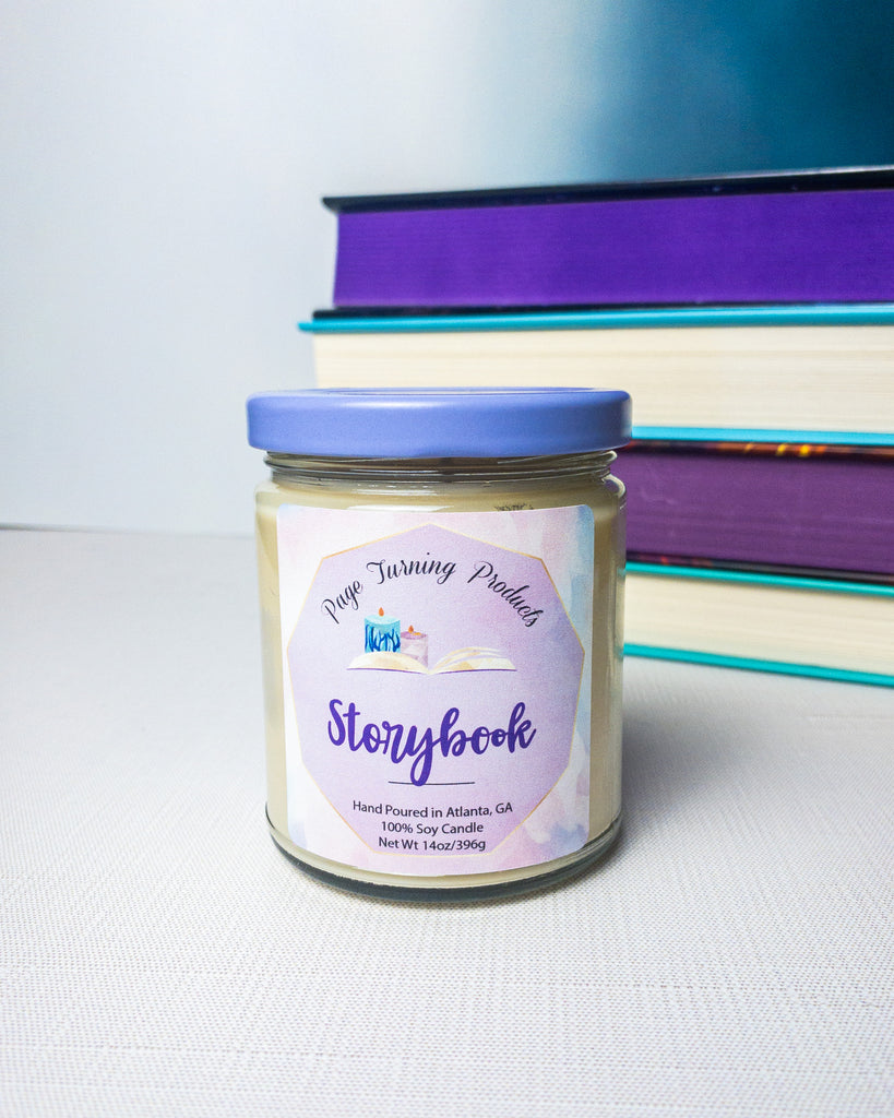 Storybook 8oz candle