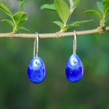 Load image into Gallery viewer, Sapphire Berry Earrings