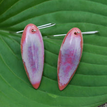 Load image into Gallery viewer, Coral Leaf Earrings