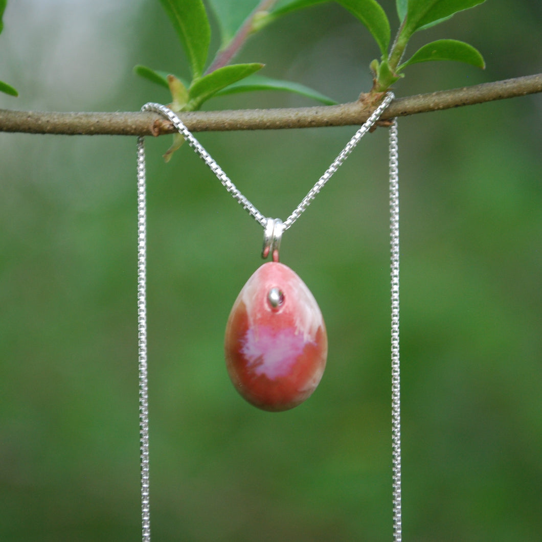 Coral Berry Necklace