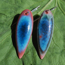 Load image into Gallery viewer, Azure Leaf Earrings