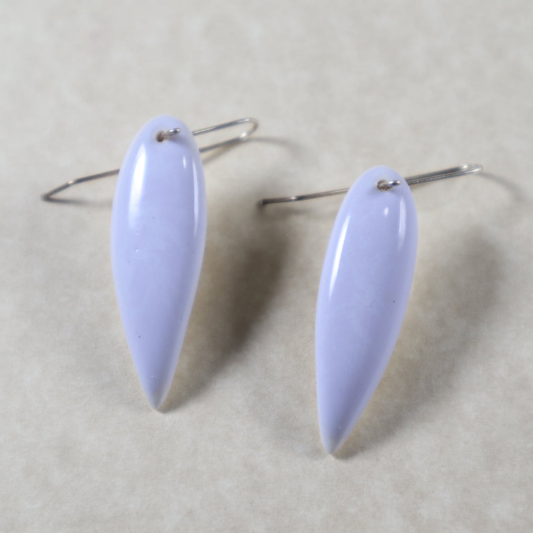 Lilac *Color Shifting* Leaf Earrings