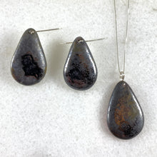 Load image into Gallery viewer, Obsidian Drop Necklace