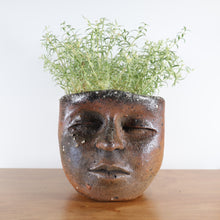 Load image into Gallery viewer, Peaceful Wood-fired Face Planter