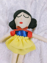 Load image into Gallery viewer, Snow White inspired Princess OOAK doll