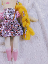 Load image into Gallery viewer, Repunzel inspired Princess OOAK doll