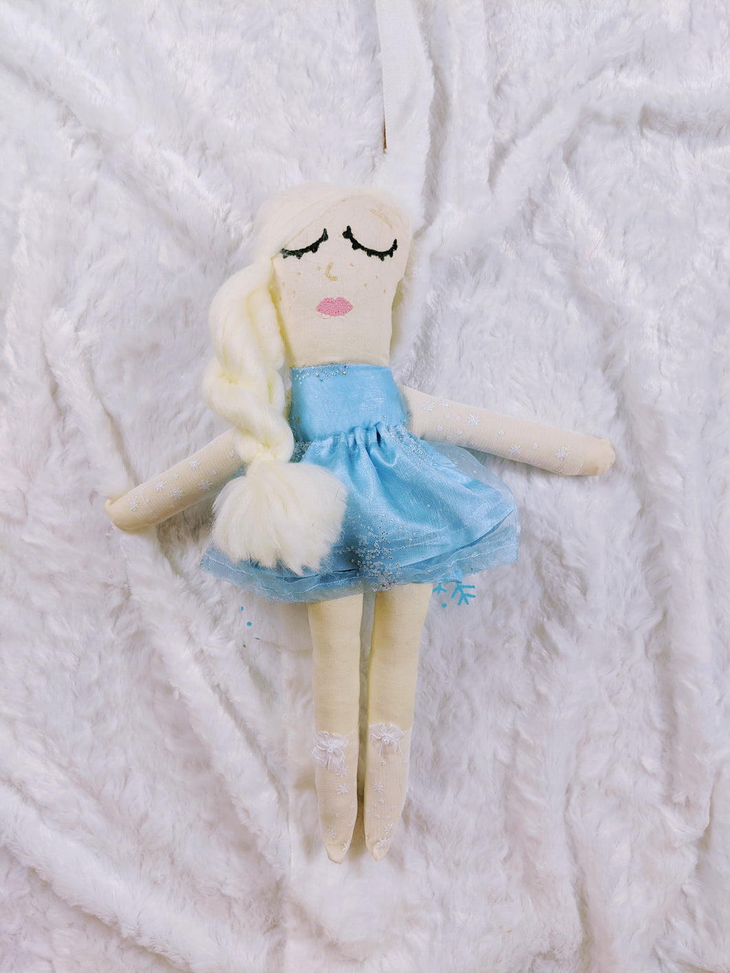 Elsa inspired Princess OOAK doll