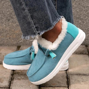 Women Comfy Flat Heel Slip-On Boots,(BUY TWO SAVE 15% OFF)
