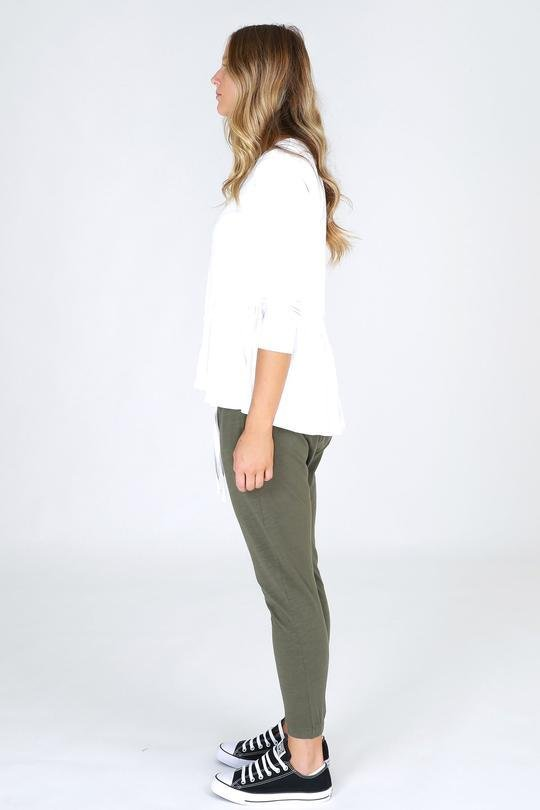 3RD STORY BONDI PANTS KHAKI - No image set - Ebony Boutique NZ