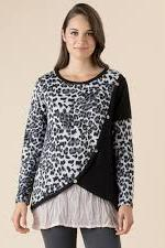 ANIMAL LAYER FRONT KNIT - No image set - Ebony Boutique NZ