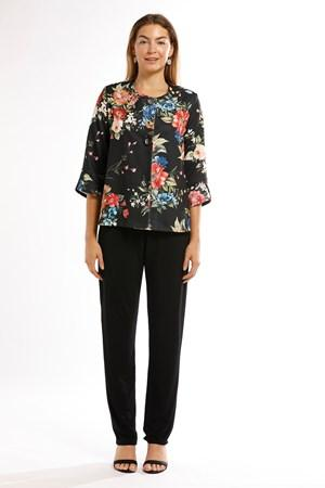ANNA PRINT BTN JACKET - No image set - Ebony Boutique NZ