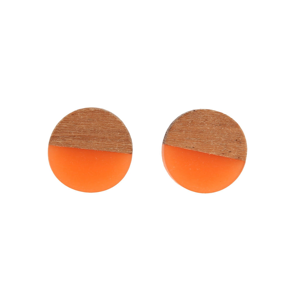 ANTHEA EARRINGS ORANGE - ANTHEA EARRINGS ORANGE - Ebony Boutique NZ