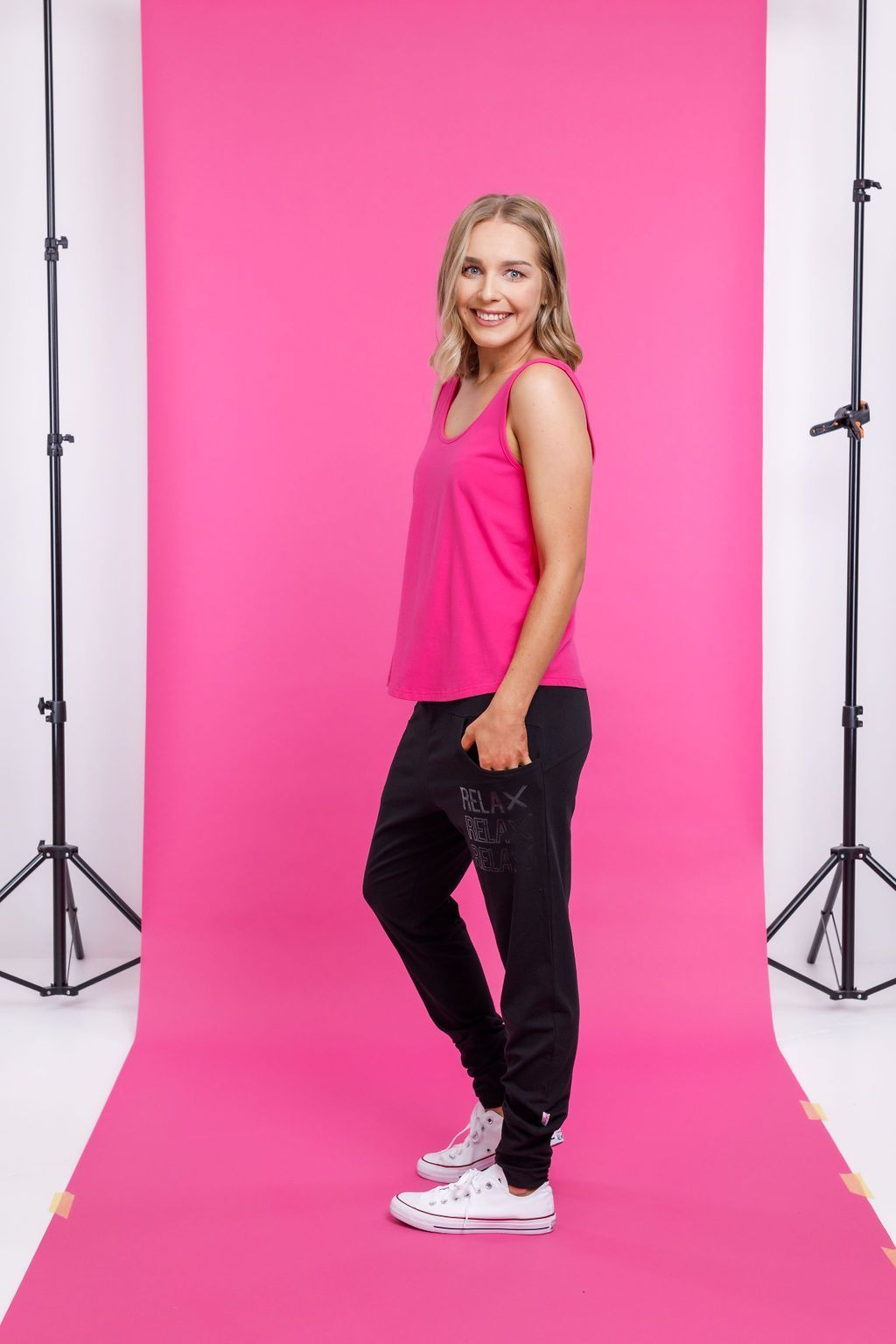 APARTMENT PANTS RELAX RELAX RELAX - APARTMENT PANTS RELAX RELAX RELAX - Ebony Boutique NZ
