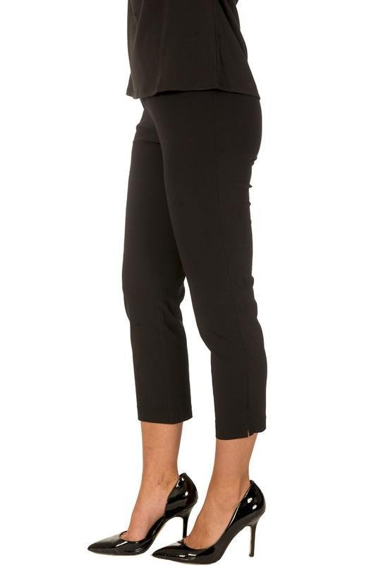BASIC PANT 7/8 WITH ANGLED POCKET - THR6030 - Ebony Boutique NZ