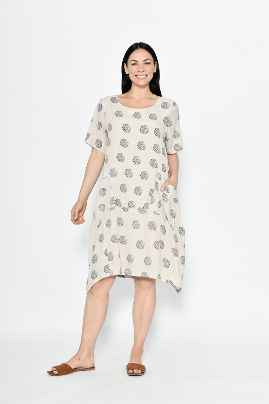 BIG POCKETS LAYER DRESS - BIG POCKETS LAYER DRESS - Ebony Boutique NZ