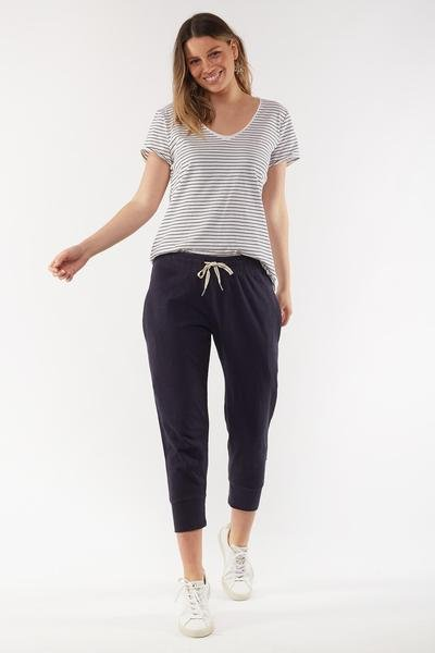 BRUNCH PANT NAVY - BRUNCH PANT NAVY - Ebony Boutique NZ
