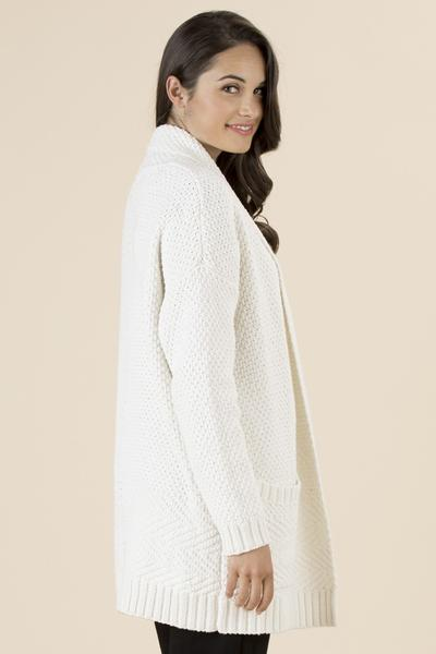 CLARITY KNIT CARDIGAN - No image set - Ebony Boutique NZ