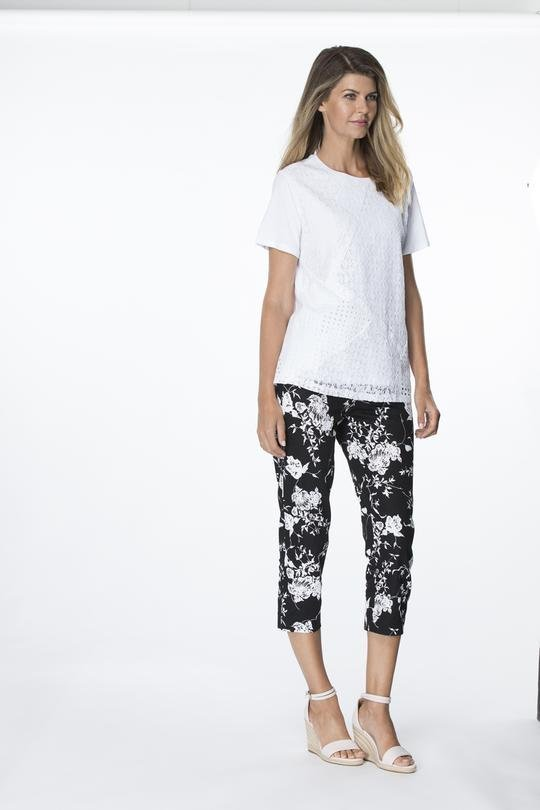 CLARITY PULL ON PANTS - THR35254 - Ebony Boutique NZ