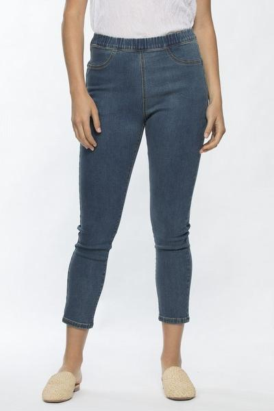 CROP STRETCH JEAN - CROP STRETCH JEAN - Ebony Boutique NZ