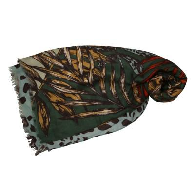 DAINTREE SCARF GREEN - No image set - Ebony Boutique NZ