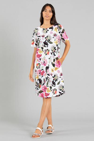 FLORAL PRINT DRESS - FLORAL PRINT DRESS - Ebony Boutique NZ