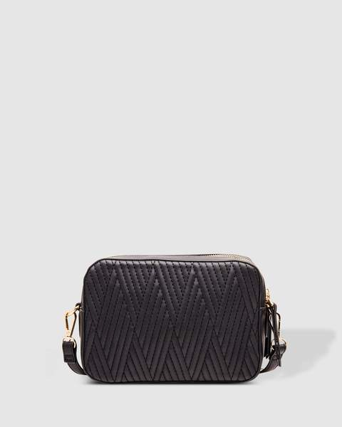HARLEM CROSSBODY BAG BLACK - HARLEM CROSSBODY BAG BLACK - Ebony Boutique NZ