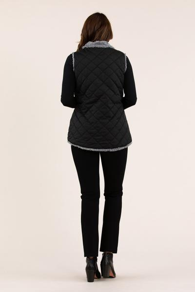 HILO HEM VEST - No image set - Ebony Boutique NZ