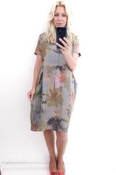 JUNGLE DRESS BUNGALOW GREY - JUNGLE DRESS BUNGALOW GREY - Ebony Boutique NZ