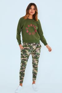 KENJI COMEBACK PANT ARMY - No image set - Ebony Boutique NZ