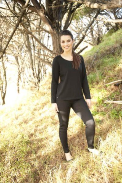 MERINO LEGGINGS - MERINO LEGGINGS - Ebony Boutique NZ
