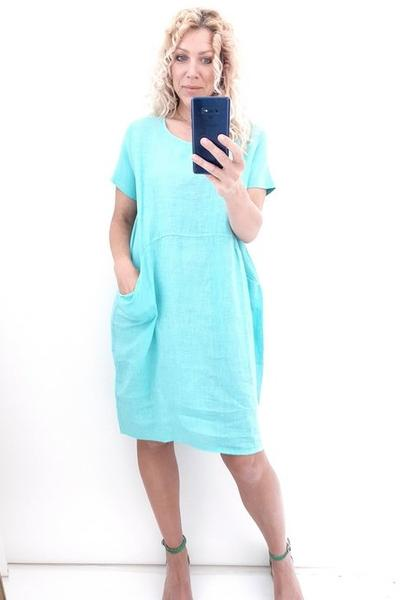 MINT PLAIN JUNGLE DRESS - MINT PLAIN JUNGLE DRESS - Ebony Boutique NZ