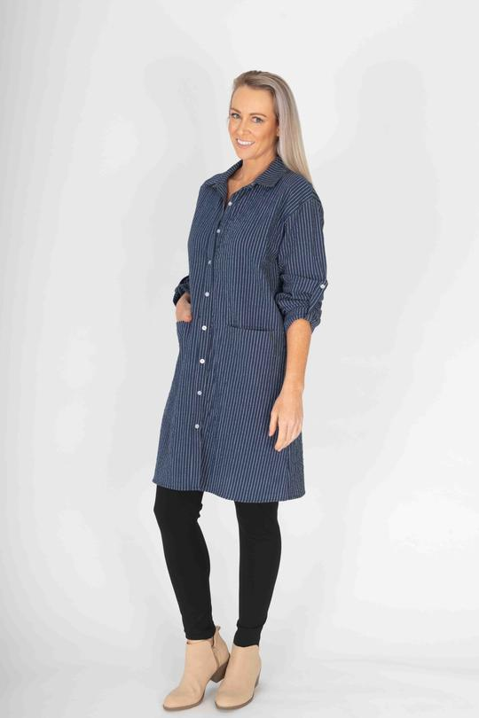POCKET TUNIC SHIRT - No image set - Ebony Boutique NZ
