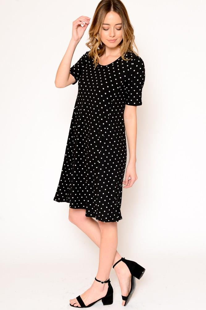 POLKA DOT DRESS - POLKA DOT DRESS - Ebony Boutique NZ