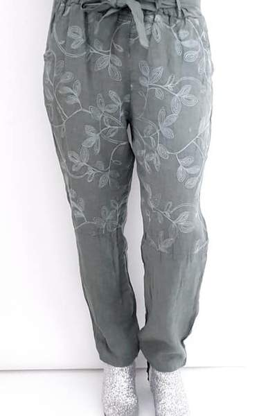 POMMAC PANTS FOREST - POMMAC PANTS FOREST - Ebony Boutique NZ