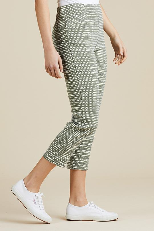 PRINTED CROPPED PANT - No image set - Ebony Boutique NZ